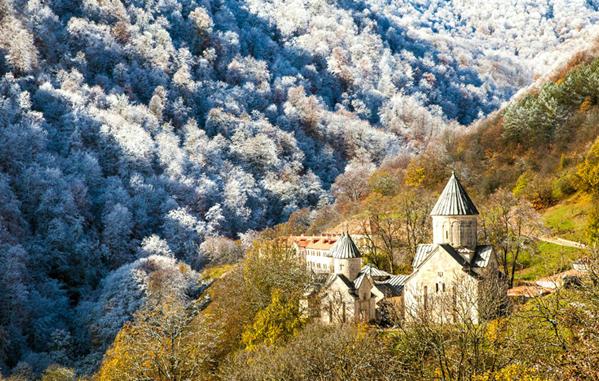 Armenian winter trips to Dilijan